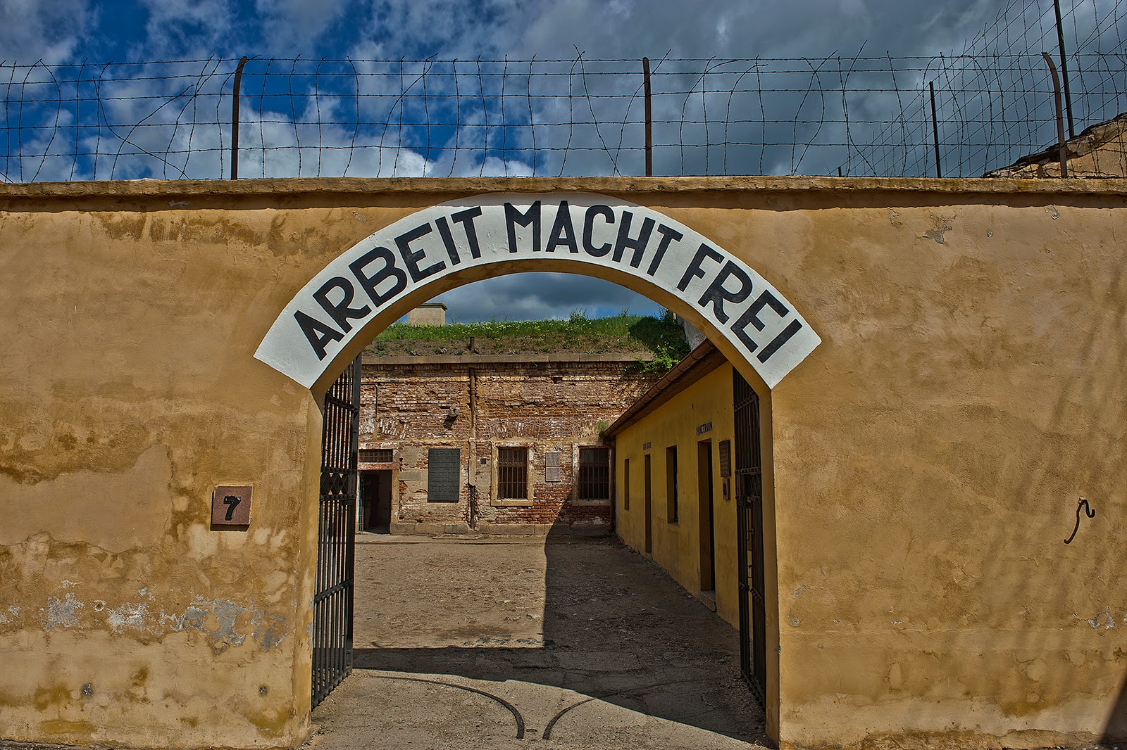 Terezin, Czech Republic, ghetto, concentration camp, Arbeit Macht Frei