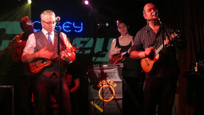 N'Ukes ukulele gig at The Cosey Club 2