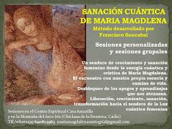 SESIONES DE SANACIÓN CUÁNTICA DE MARÍA MAGDALENA
