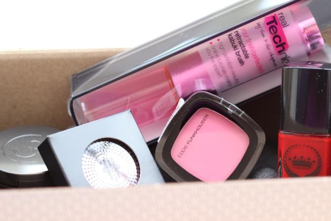 May Wantable makeup box products