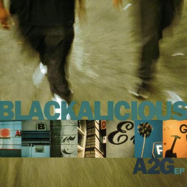 Blackalicious - A2G - EP Cover