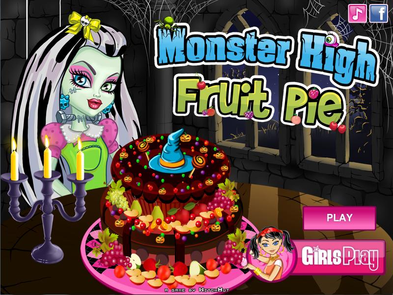Juegos Monster High  monster high fruit pie  Lorena Games