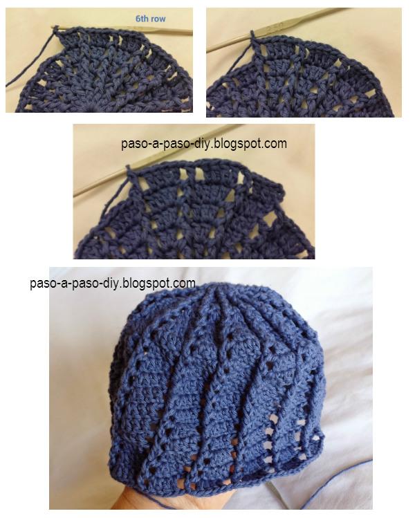 Tutorial paso a paso panamá de niña al crochet