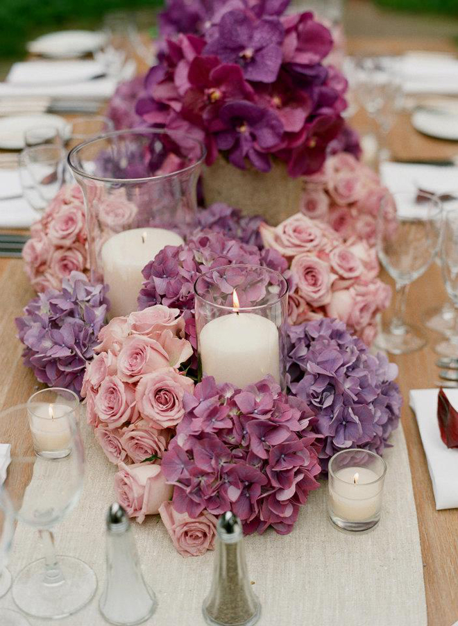 25 stunning wedding centerpieces best of 2012 belle for Bridal table arrangements