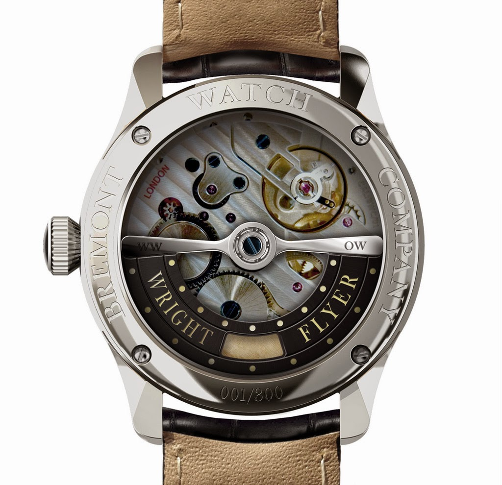 Bremont - Wright Flyer Limited Edition Bremont-Wright-Flyer-SS-Back
