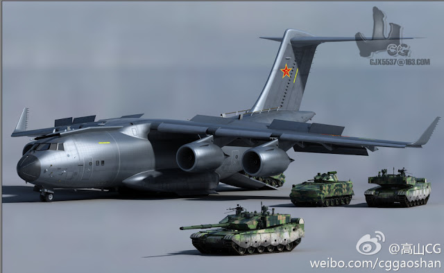pesawat cargo strategis IL-76 MD-90A