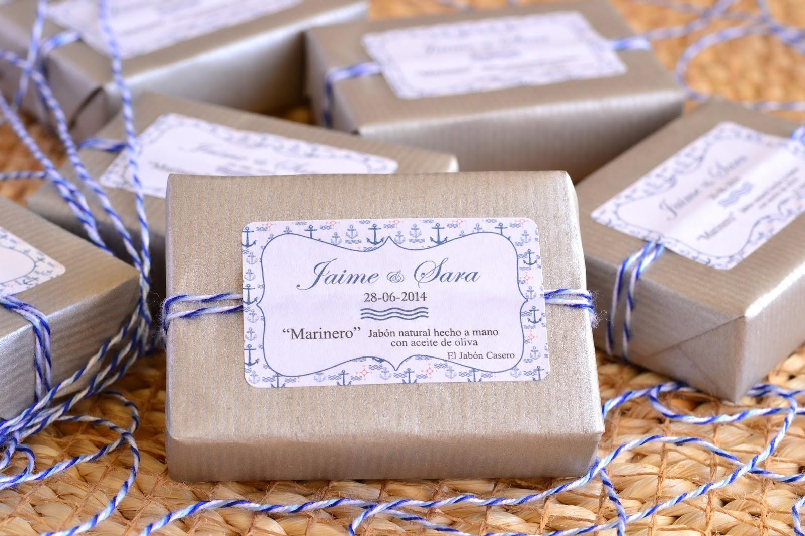 Detalles de boda playa jabones naturales el jabon casero