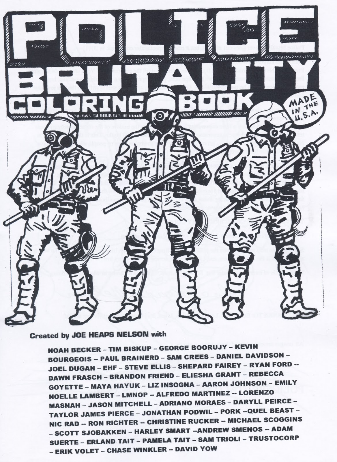 the artwork and anxiety garden of daryll peirce police brutality