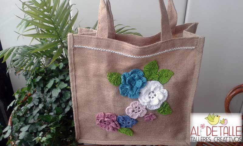 Rosabel manualidades bolsas decoradas - Bolsas de tela manualidades ...