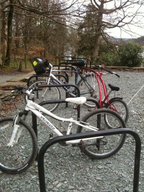 Wray Castle bike racks
