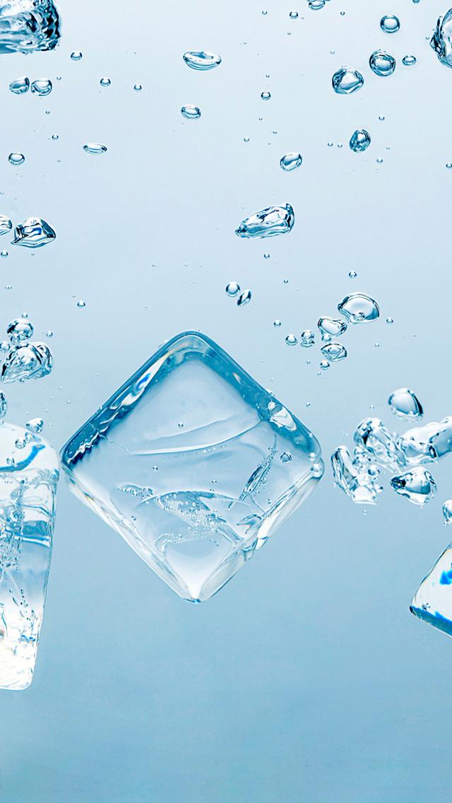スマホ壁紙box 水と氷の壁紙