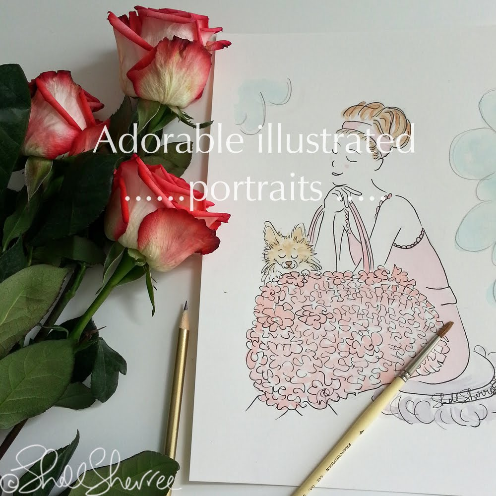 Book Your Illustrated Custom Portrait