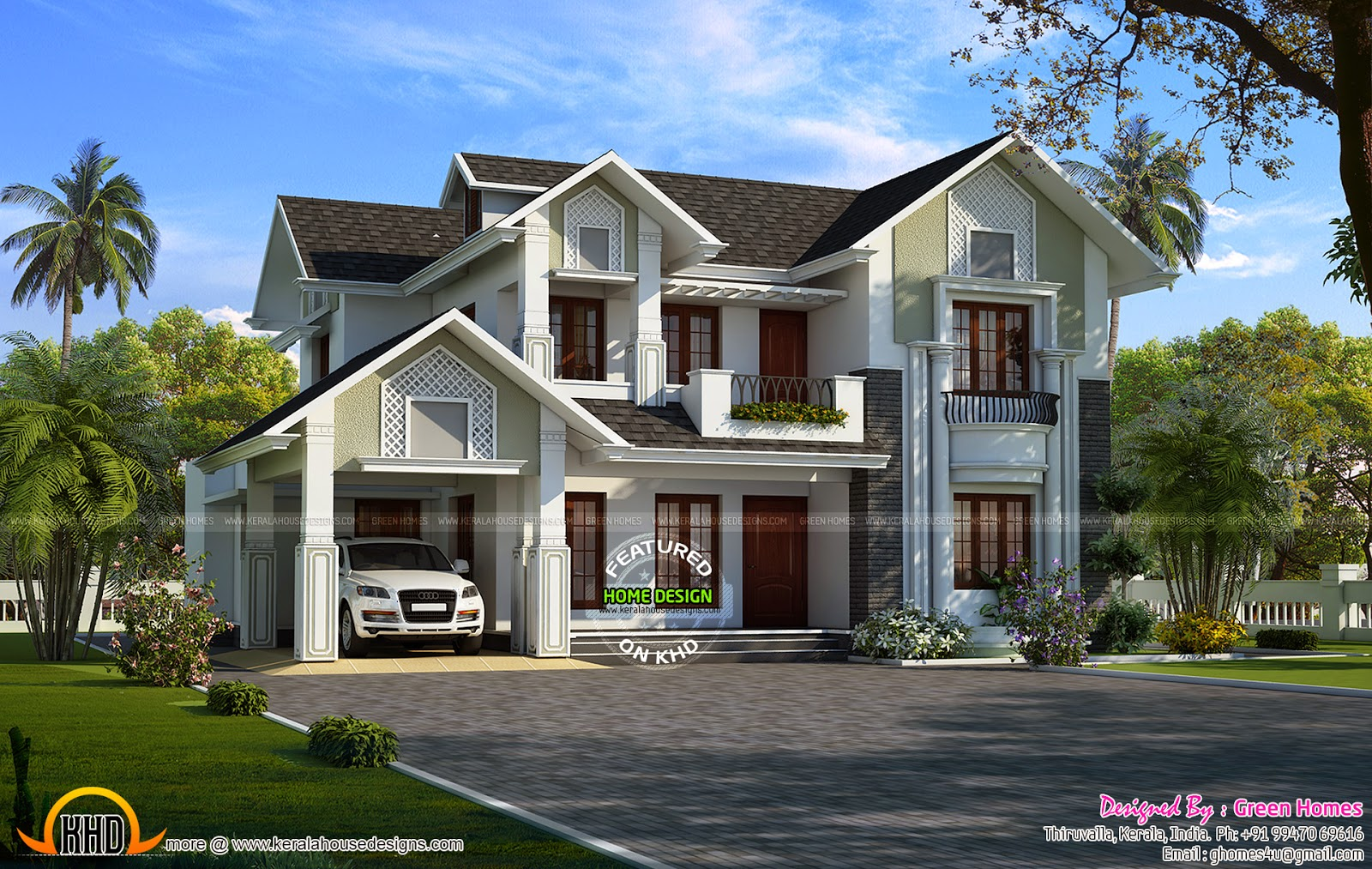 289 Square Yards Modern Home Kerala Home Design And