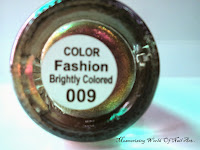 Ku Ni Dazzling Magical Colorful Glitter Nail Art Polish