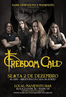 Freedom Call Brazil tour 2016