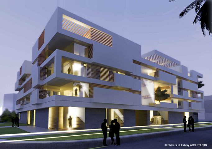 Cool Modern Apartment Building Elevations Images   Exterior Ideas 3D .