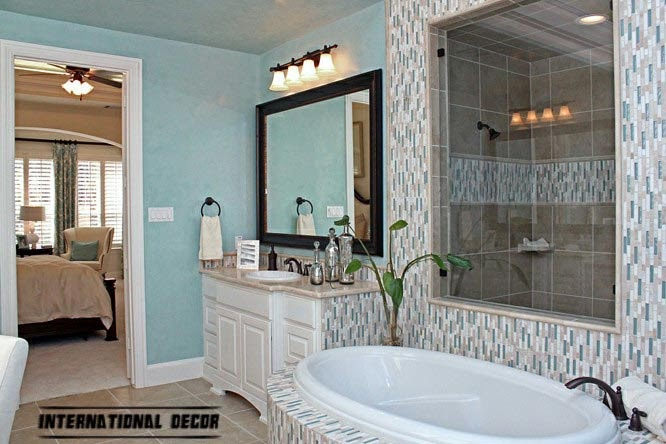 turquoise bathroom interior design
