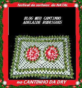 SORTEIO CANTINHO DA DRY & MEU CANTINHO 10/12