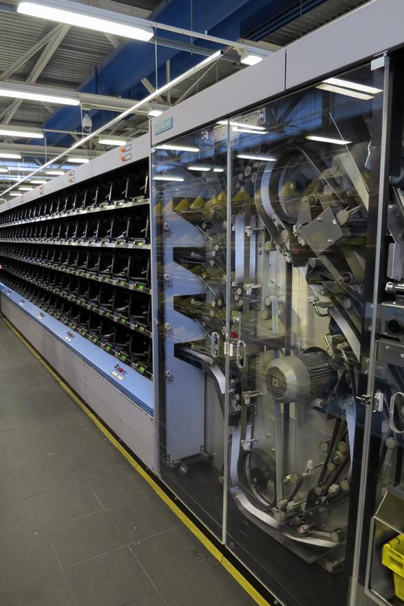 Centro automatizado Correos