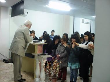 Em Valencia na Espanha,ministrando a palavra de Deus