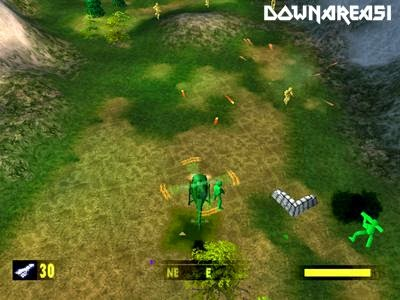 Army Men Air Attack PSX Game Screenshot