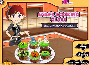 Cocina con Sara HALLOWEEN CUPCAKES