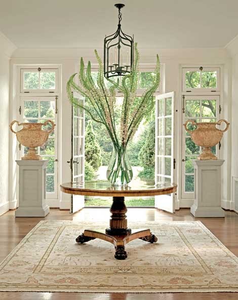 Foyer Area Table : Designs for daley living wowing your entry and foyer