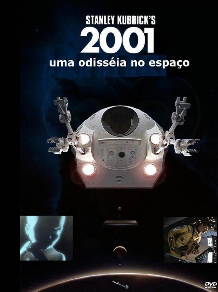 2001: Uma Odisseia no Espaço Torrent - Blu-ray Rip 720p e 1080p Dual Áudio (1968)