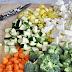 Veggies, Mushrooms/Onions & Brown Rice Meal Prep
