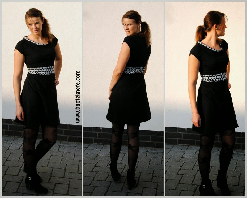 Schnittmuster kleid toni