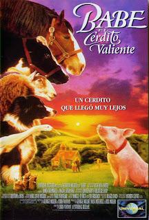 """Blog Safari Club, película online """"Babe, el cerdito valiente"""""""