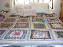 Large Granny Square Blanket