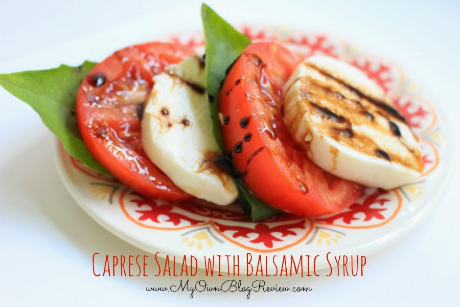 Caprese Salad Recipe on MyOwnBlogReview.com. Cooking Planit and Formaggio Cheese Challenge #FormaggioChallenge