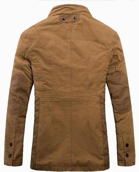 Mr.Freeman Men's Casual Cotton Lightweight Jackets For Fall-Winter