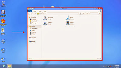 Learn how to hide files and folders in windows 8 step4