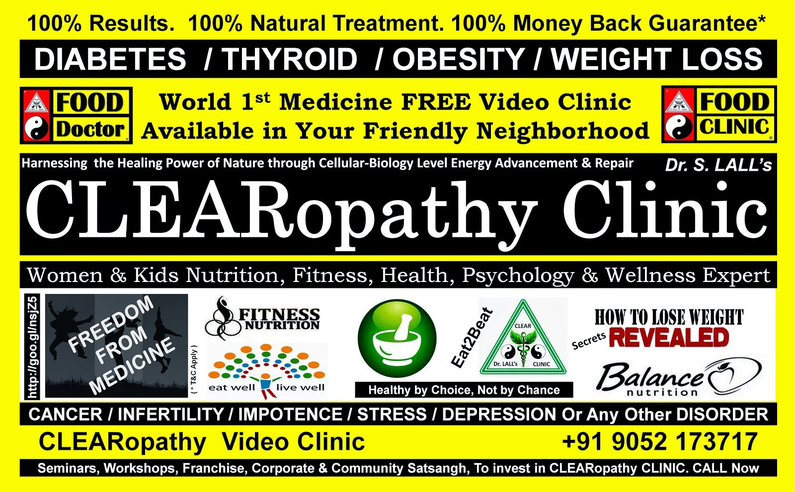 Anywhere  Anytime CLEARopathy Clinic