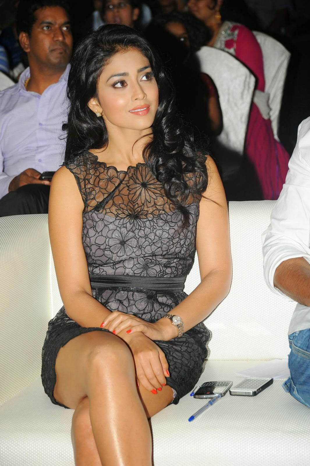 Shriya Saran At Life Is Beautiful Audio Release Function