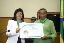 Zefa da Guia foi homenageada pela Assembleia Legislativa do Estado de Sergipe...
