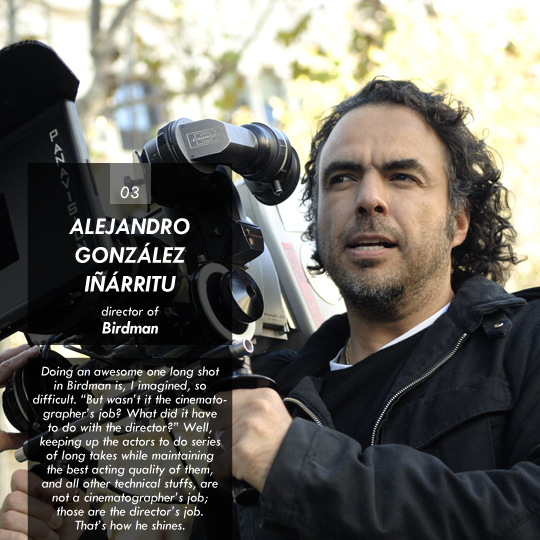 Alejandro Gonzalez Inarritu (Birdman)
