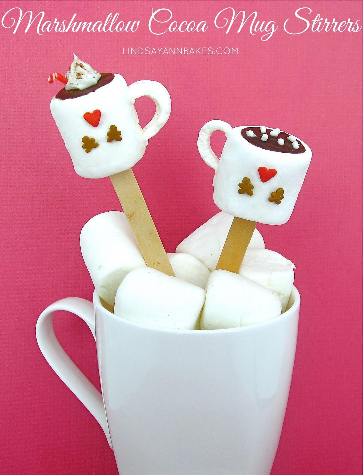 Chocolate Marshmallow Cake In A Mug