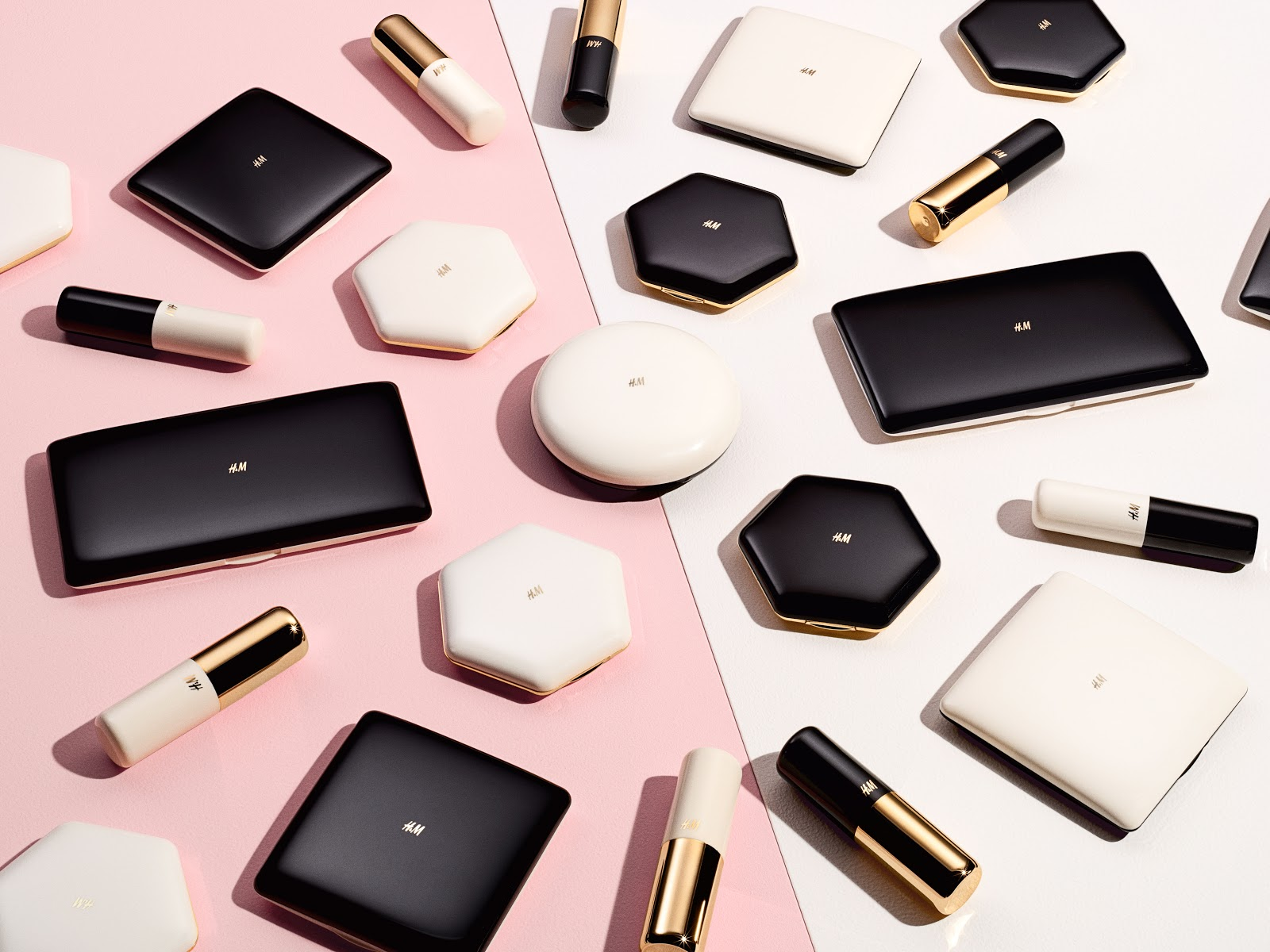 H&M beauty range launch autumn 2015