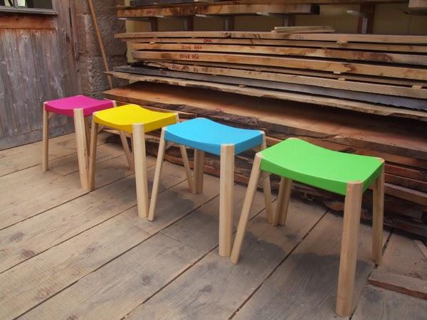 Sgabelli colorati plus deco interior design blog for Sgabelli colorati