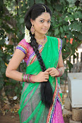 Actress Anjali Rao in Half Saree-thumbnail-7