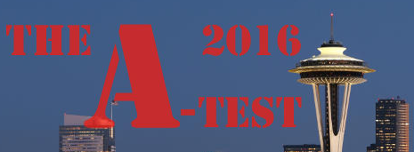 A-TEST 2016 - Seattle, USA, 18 de Novembro de 2016