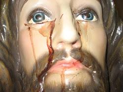 Imagem do Sagrado Coração de Jesus chorando Sangue (Macatuba-SP) 2008