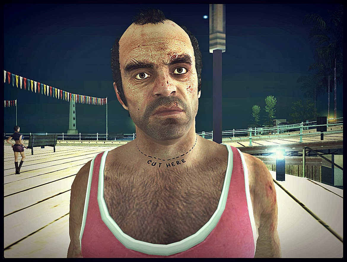 GTA SA - Trevor Sem Causa Convertido Do GTA V