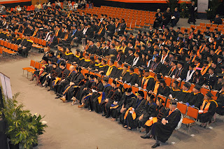 The Spring 2014 graduates from the College of Criminal Justice.
