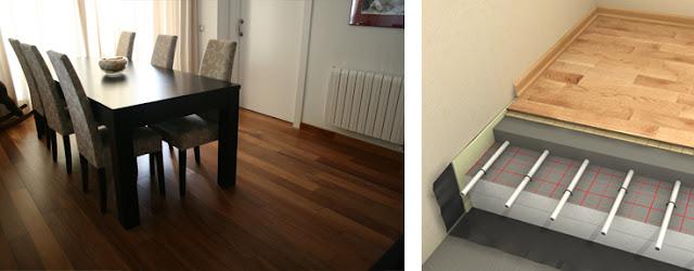 son numerosas las consultas que nos llegan acerca de la del pavimento de madera con el sistema de calefaccin por suelo radiante