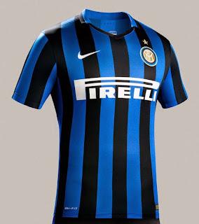 gambar detail ohoto Jersey Inter milan home Official musim 2015/2016