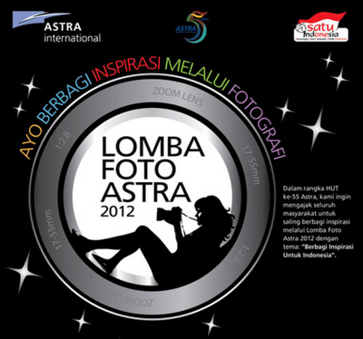lomba foto astra 2012 by phandaka filled under lomba foto video